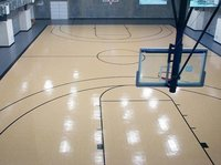 Indoor Basketball Court Wooden Floor