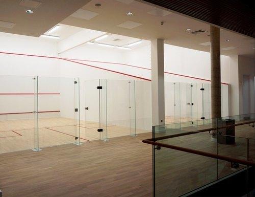 Teak Wood Sports Court Flooring