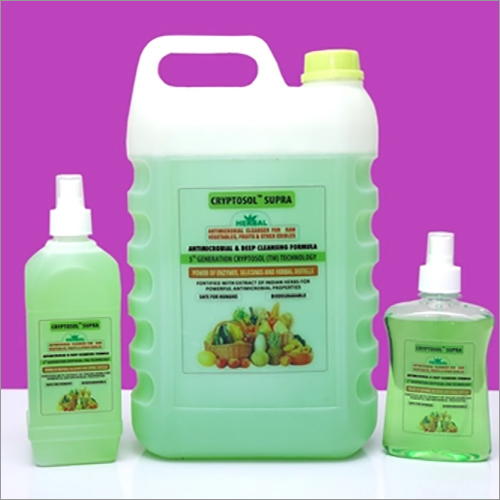 Fruits And Vegetables Disinfectant