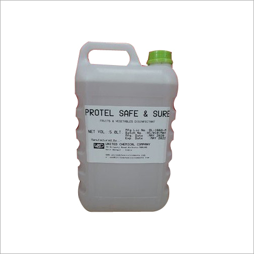 5 L Protel Safe And Sure Fruits And Vegetables Disinfectant