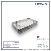 carrara Design Wash Basin