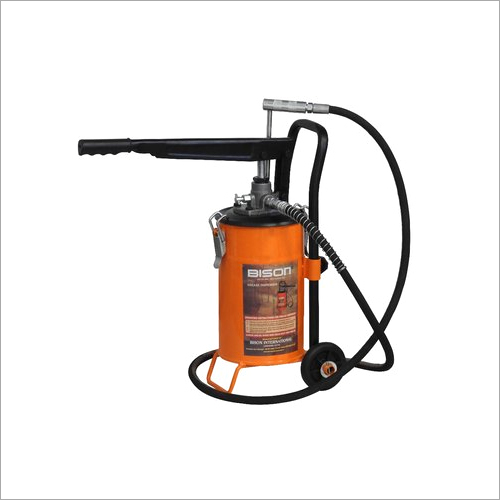 5 Kg Bucket Grease Pump with Trolly