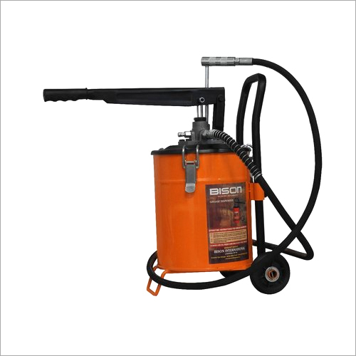 10 Kg Bucket Grease Pump With Trolly