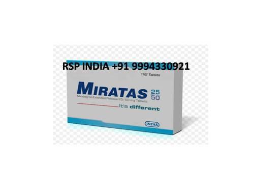 MIRATAS 25&50 MG TABLETS