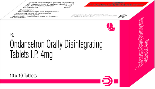 ONDANCENTRON ORAL DISINTERAGATING 4 MG