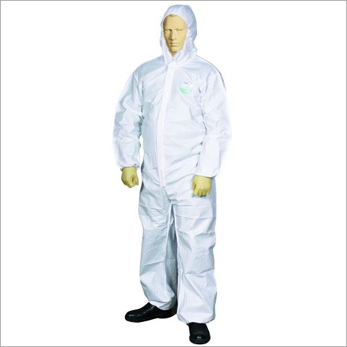Dust and Splash Type 5 and 6 Disposable Coverall