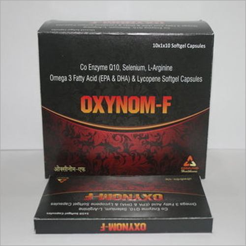 Co Enzyme Q10 100mg L Arginine 100mg Omega 3 Fatty Acid Sg