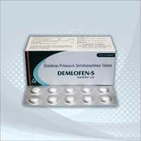Diclofenac Potassium 50mg Serratiopeptidase 10mg Tablets