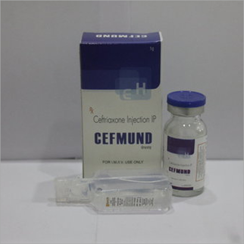 Ceftriaxone 1000mg Tazobactum125mg Injection