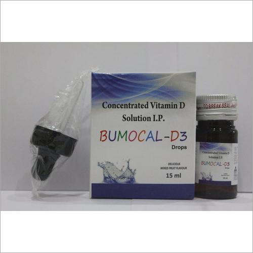 Calcium carbonate 500mg Vitamin D3 Drops