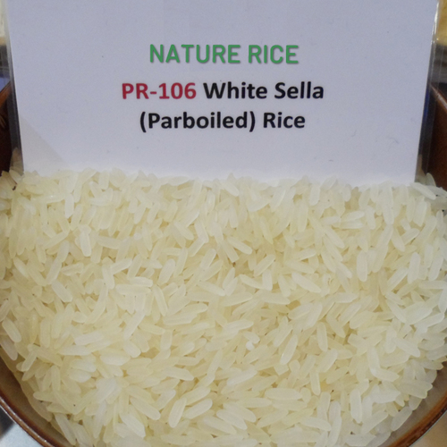 PR 106 White Sella Rice