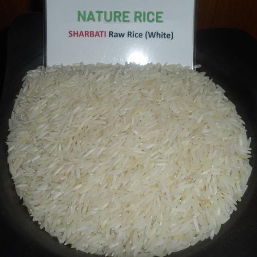 Sharbati Raw White Rice