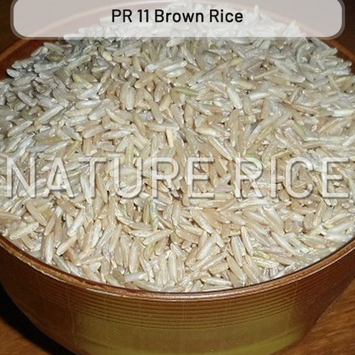 PR 11 And PR 14 Brown Raw Rice