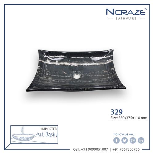 Ncarze Black color Wash basin