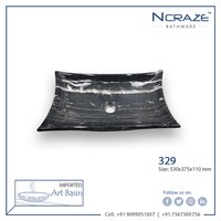 Ncarze Black color Wash basin