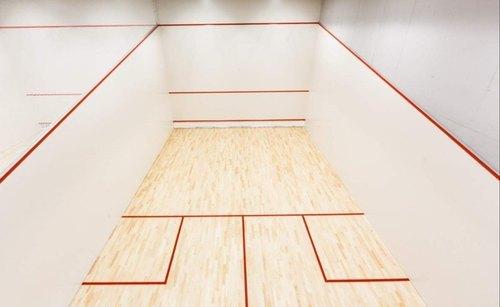 Teak Wood Sports Court Floor