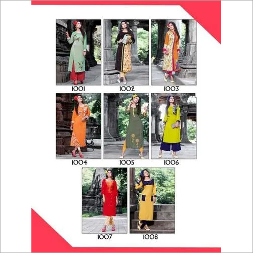 Bonita Beauty Vol-1 Aliksha Rayon Wholesale Kurtis