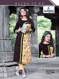 Bonita Beauty Vol-1 Aliksha Rayon Wholesale Kurtis