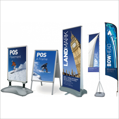 Outdoor Banners Stands