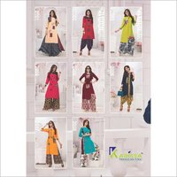 Butterfly Karissa Manual Thread Work Rayon Kurti