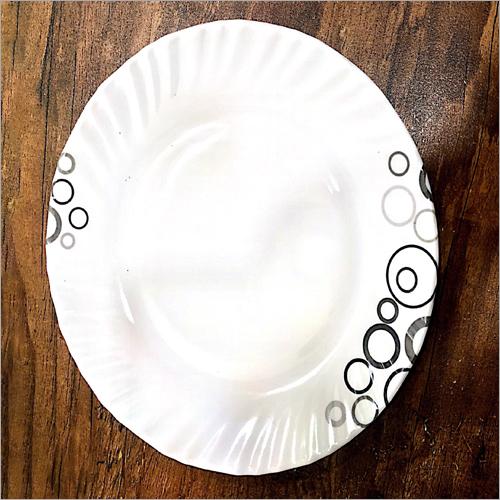 Printed Melamine Dinner Plate