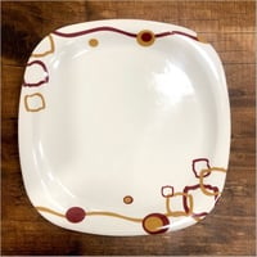 Modern Melamine Dinner Plate