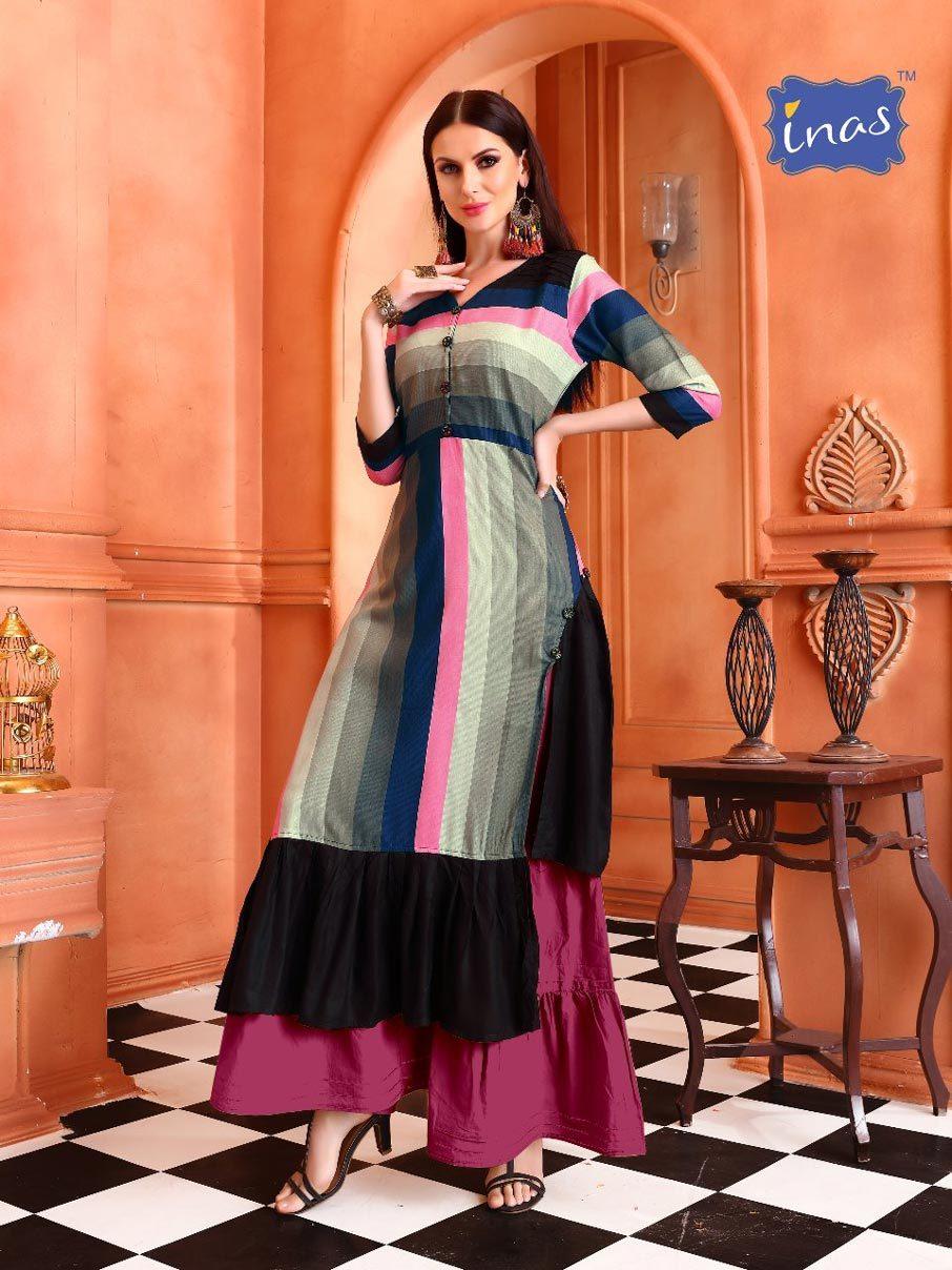 Cadbury Vol-1 Kriyansh Textiles Rayon Print Kurtis