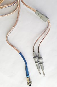 Patient Plate Cable Cord With Round Connector