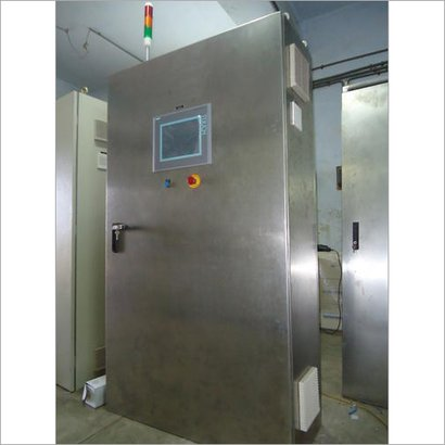 Stainless Steel Plc Control Panel Certifications: Iso 9001:2015 Msme Cpri Mes