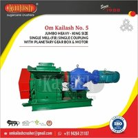 Single mill jaggery machinery with planetary gearbox 40 ton per day crushing