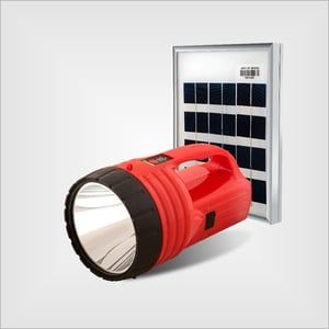 8000 mAh Li-ion Rechargeable Battery Solar Torches And Lanterns