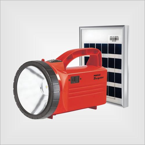 Thunder Solar 4400 mAh Li-ion Rechargeable Solar Torch