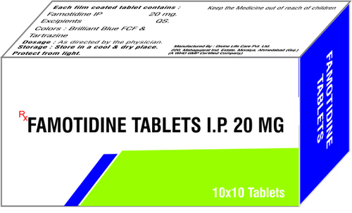 FAMOTIDINE TABLETS 20 MG