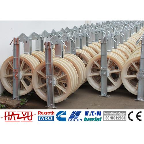 SHSN-508X75 Stringing Equipment Three Conductor Pulleys