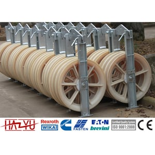 SHSN-508X100 Transmission Line Accessories Three Nylon Conductor Pulley