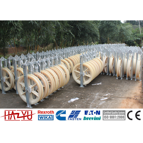 SHDN-120X30 Nylon Stringing Blocks Pulley Conductor
