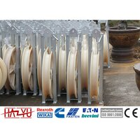 SHDN-250X40 Stringing Equipment Accessories Nylon Single Conductor Stringing Pulley Block