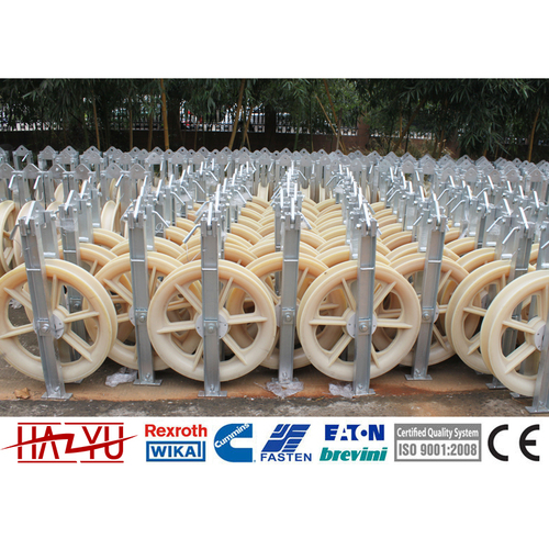 SHDN-270X60 Customized High Quality Single Nylon Conductor Pulley
