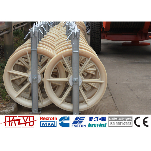 SHDN-320X80 Transmission Line Tools Single Wheel Conductor Stringing Block Pulleys