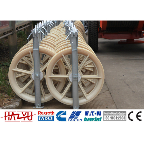 SHDN-400X80 Single Wheel Nylon Conductor Pulley