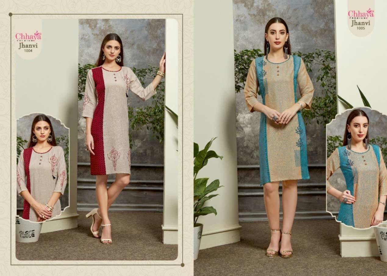Chhaya Jhanvi Kurti Garment Catalog