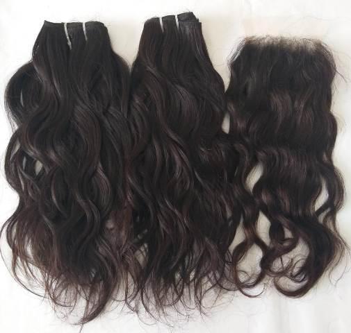Raw Wavy Bulk Hair