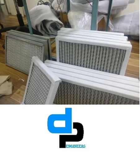 Synthetic Fiber Cold Rolled panel Air Filter For DC Motor