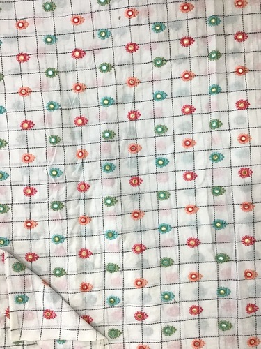 Cotton Embroidery Fabric