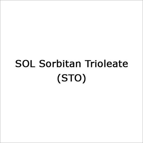 Sorbitan Trioleate