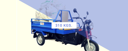 Cargo Electric Loader Rickshaw