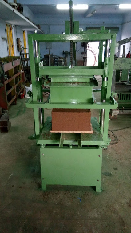 Hollow Block Making Machine - double stroke manual/electrial