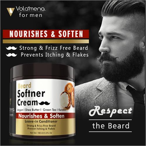 Volamena Beard Softener Cream Nourishes & Soften 100 Ml