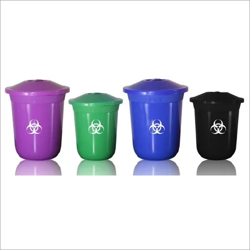 Bin Plastic with Lid