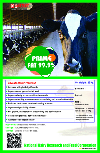 ANIMAL FEED SUPPLEMENT ( PRIME FAT )